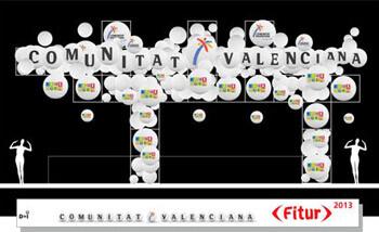 Stand de la Comunitat Valenciana en Fitur 2013