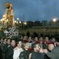 La Virgen de los Desamparados a su llegada al barrio de la Parroquia de Sanjosemaría/Manuel Gallart