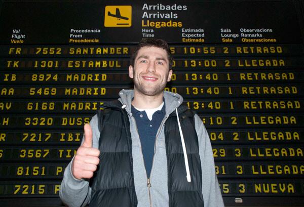 Adam Hrycaniuk, nuevo jugador del Valencia Basket