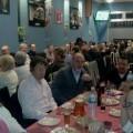 Asistentes a la cena que ha tenido lugar en el complelo Bowling de Tres Forques/vlcciudad