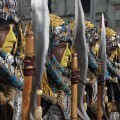 La Falla Almirante Cadarso-Conde Altea celebró su Parada Mora