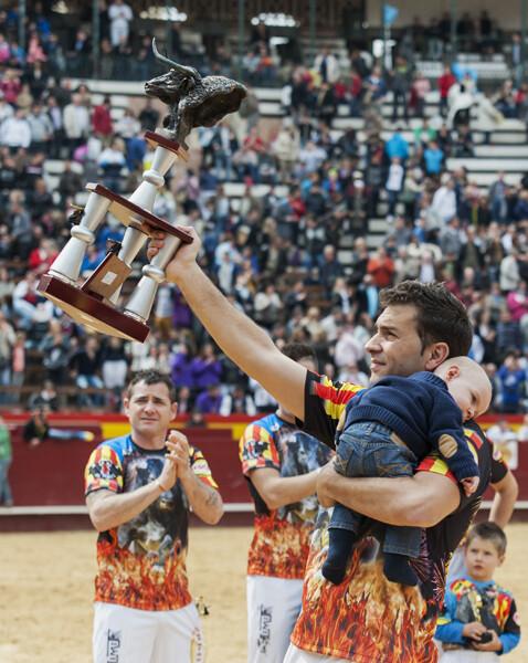 El vencedor, Sergio Delgado. Foto: Isaac Ferrera