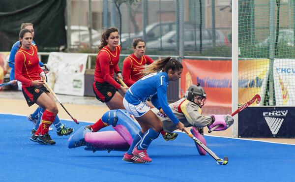 Italia llevó la delantera pero la tenacidad de España les llevó a la victoria/Isaac Ferrera
