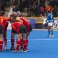 Las españolas tuvieron una notable actuación. El grupo festeja el triunfo/Isaac Ferrera