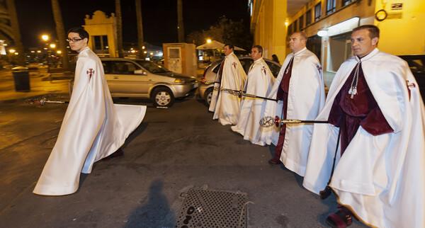 Hermandad de la Crucifixión del Señor. Foto: Isaac Ferrera