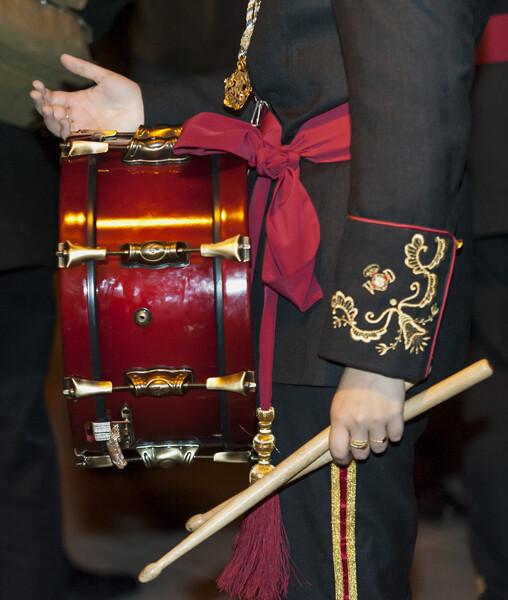 _IFSEl tambor toma protagonismo en el cierre del acto de la Retreta. Foto: Isaac Ferrera5026