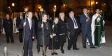 Presidencia del cortejo con la edil del PSPV, Pilar Calabuig, y la clavariesa de Sant Bult/M.Molines