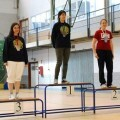 Las feminas blanquiazules dominaron en el campeonato/sav