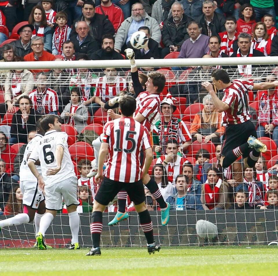 El Valencia no supo marcar en San Mamés. (Foto: valenciscf.com)