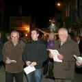 Los Auroros de Vinalesa en la procesión del año pasado/vlcciudad