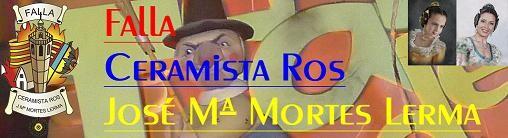 La falla Cermista Rosa de Tres Forques desiste de disparar por carecer de premiso para montarla en zona ajardinada/falla ceramista