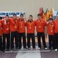 Los chicos del Valencia Club de Halterofilia que han quedado terceros de España Sub-16/Vlc c.h.
