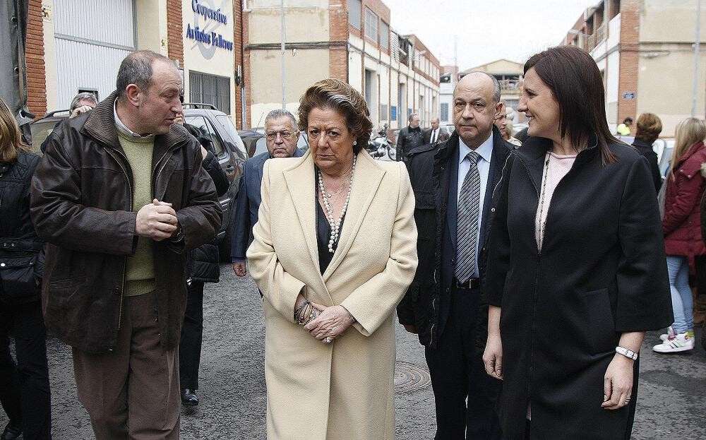 El vicemaesetro mayo del Gremio departe con la alcaldesa y la consellera/ayto vlc