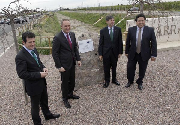 Fabra vuelve a reivindicar la llegada del agua como elemento clave para garantizar el futuro de la agricultura valenciana