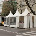 7 de marzo: Churrería instalada en Serrans - Plaça dels Furs. Foto: Javier Furió