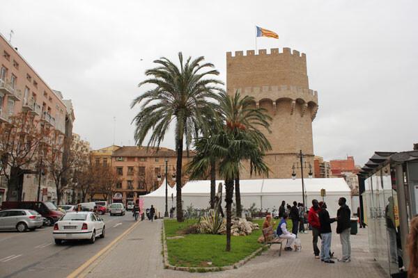 7 de marzo: Carpa de Serrans - Plaça dels Furs. Foto: Javier Furió