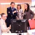 García Ribot en el Centro de Seguridad TIC de la Comunitat Valenciana