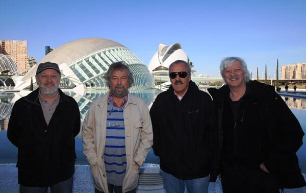 Les Luthiers en la Ciutat de les Arts i les Ciències.
