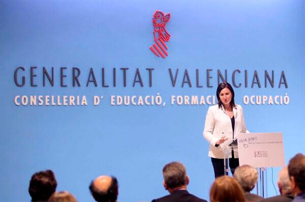 Mª José Catalá, en reciente aparición pública