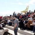 Las gradas se llenaron el pasado fin de semana para participar en las actividades/Marina Real