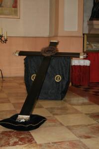Cruz de la Hermandad de la Coronación de Espinas/hdad. coronación