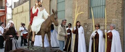 La Borriquilla saldrá en el cortejo de Cristo Redentor en el Cabanyal