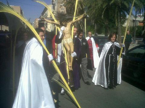 El Cristo de la Palma presidirá la procesión en el Grao/vlcciudad