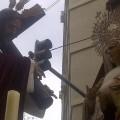El Jesús del Gran Poder de Valencia y la Virgen de Gracia ayer por Arrancapins/vlcciudad