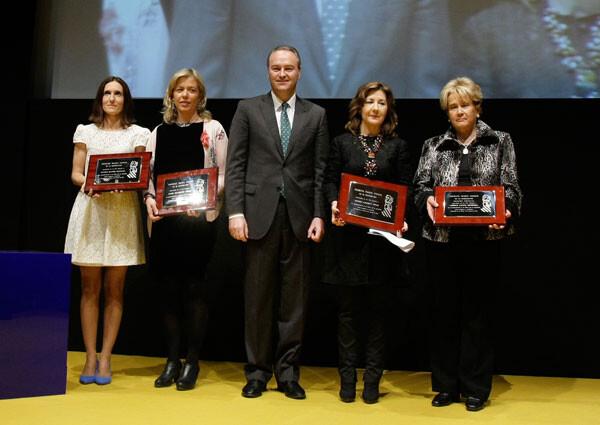 Entrega de los Premios Isabel Ferrer de la Generalitat 2012, en foto de archivo.