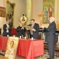 Presentación de la Procesión del Pretorio en la iglesia de los Ángeles