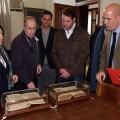 El Principe visita una de las dependencias del Ateneo Mercantil/Ateneo Mercantil