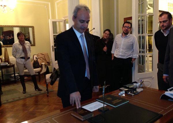 Ricardo Gabaldón jura su cargo como presidente del Colegio Oficial de Graduados Sociales de Valencia