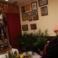 La alcaldesa durante la visita al Jesús de Medinaceli cuando estuvo en la falla Santos Justo y Pastor-Serreria/ayto vlc