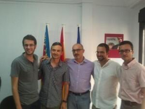 Un grupo de militantes de UPyD
