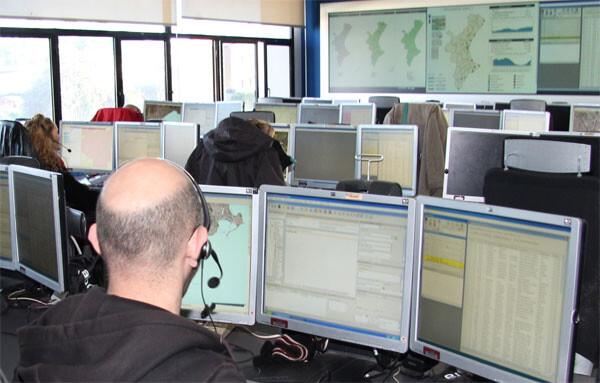 El Centro de Emergencia 112 de la Comunidad Valenciana