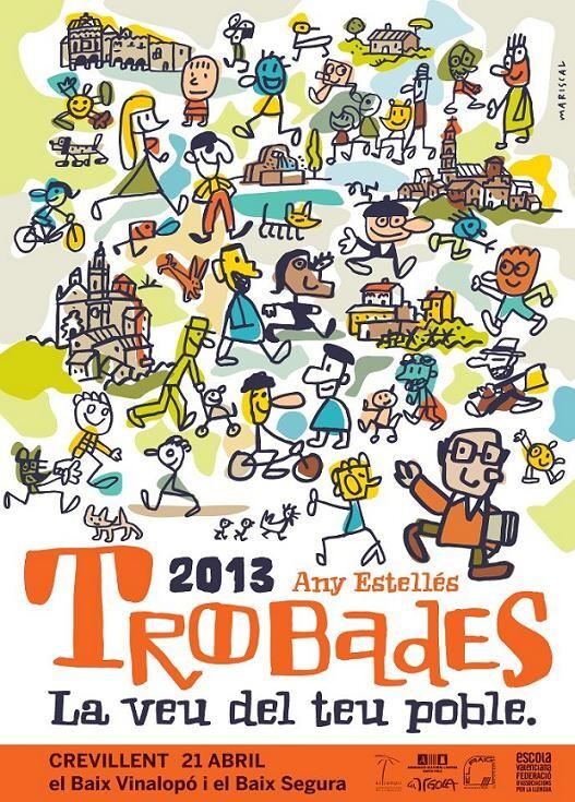 Cartel de las ¨Trobades¨ 2013