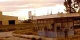 Una zona de la antigua fábrica levantada en suelo del puerto existente en el barrio de Nazaret/eu