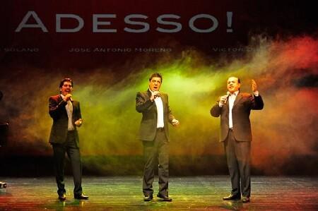 Adesso! Los tres tenores.