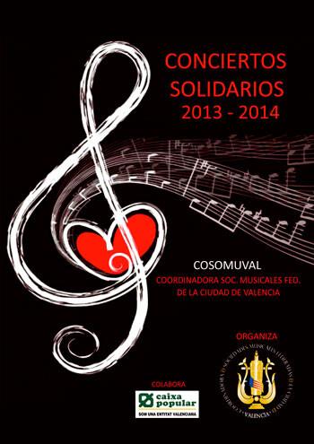 Conciertos Solidarios de COSOMUVAL 2013 y 2014