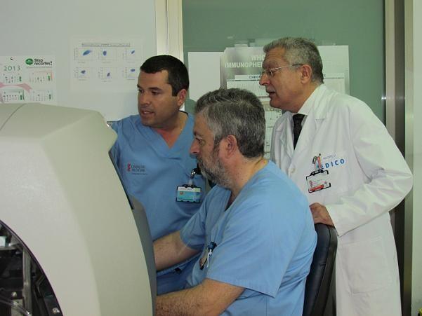 Los investigadores del Arnau de Vilanova/arnau de vilanova