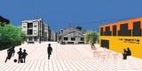 Vista de como es la propuesta de la arquitectura con despacho en Madrid