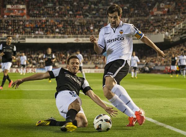 Mestalla ha vivido una gran noche que se la han ofrecido los jugadores a la afición/Isaac Ferrera