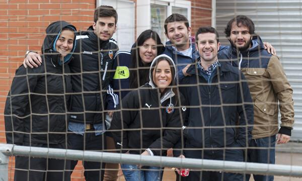 Un grupo de asistentes al encuentro y último del campeonato en Beniferri/Isaac Ferrera