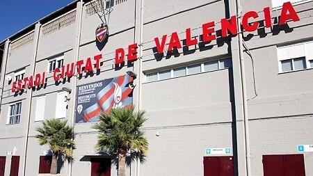 Levante UD. Estadio Ciutat de Valencia