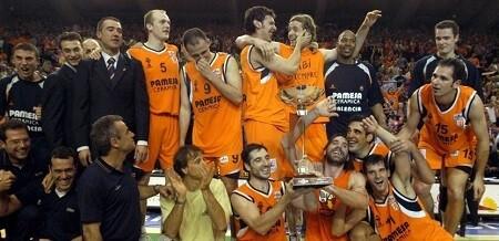 Valencia Basket. 10 aniversario victoria ULEB Cup