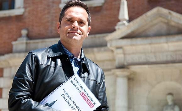 Amadeu Sanchis, portavoz de Esquerra Unida en el Ayuntamiento de Valencia