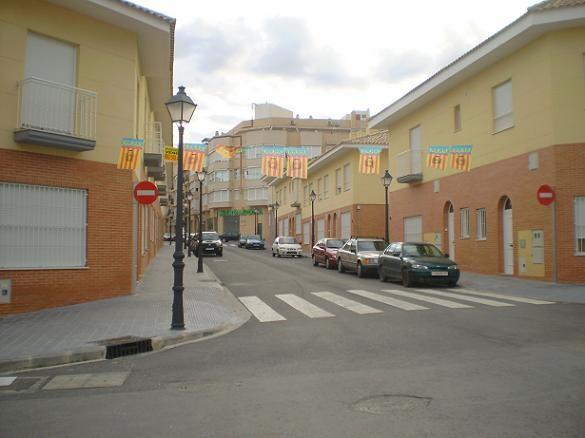 Una calle de la pedania de Benimamet/vlcciudad