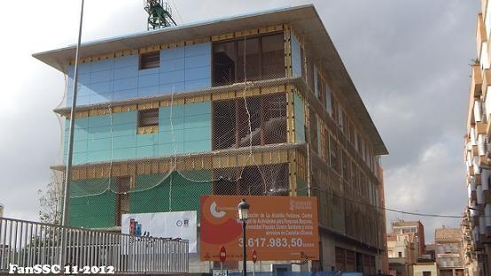 Edificio municipal que tendrá mejoras en el consumo energético