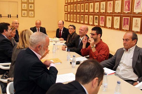 Reunión del consejo rector de la junta central fallera/vlcciudad