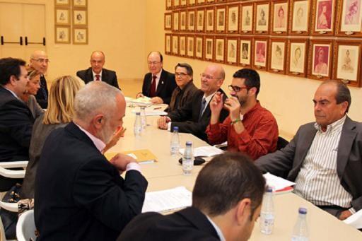 El consejo rector de la JCF en la reunión del pasado mes de noviembre/vlcciudad